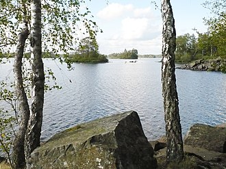 Kronoberg County - Taxås Nature Reserve, Möcklen Lake