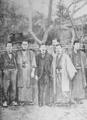 Tayama Katai and his friends 1903.png