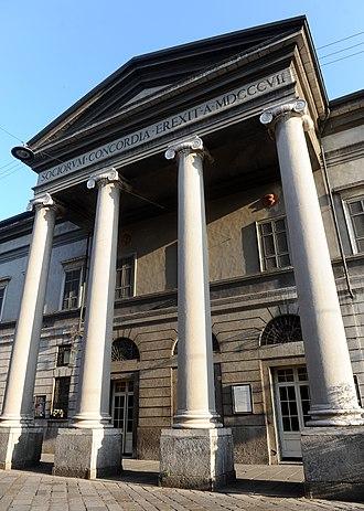 1808 in architecture - Theatre in Cremona