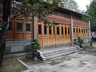 Temple of the Six Banyan Trees - Behind the temple