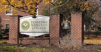 Athens, Tennessee - Tennessee Wesleyan University, organized in 1857