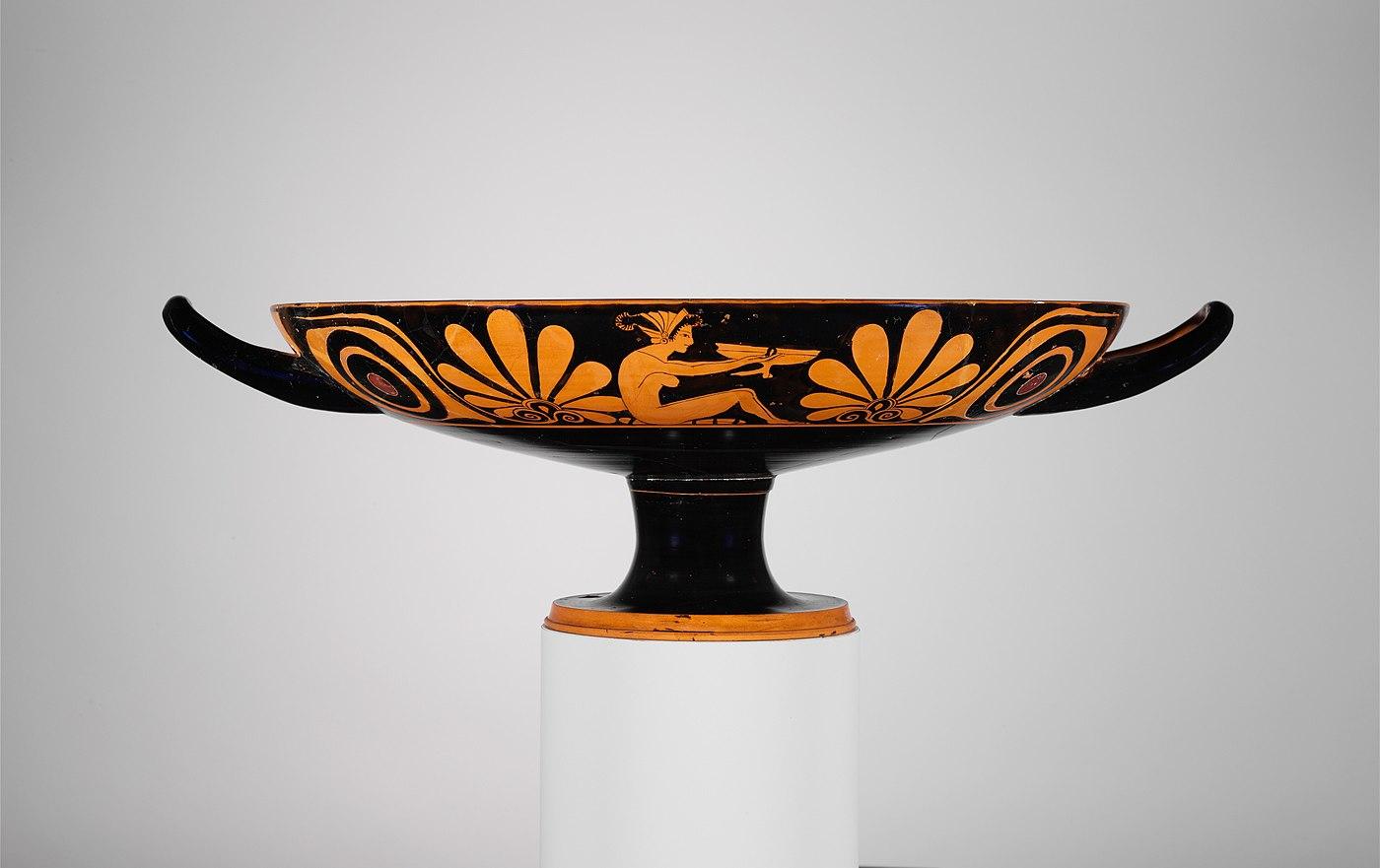 Terracotta kylix