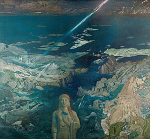 Ananke (mythology) - Terror Antiquus by Bakst (1908)