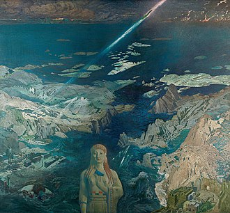 Atlantis - Leon Bakst's vision of cosmic catastrophe