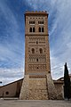 Teruel, Torre de San Martín, desde la plaza de Pérez Prado.jpg