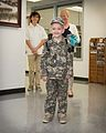 Texas Military Forces honors cancer fighter at honorary enlistment ceremony 150327-Z-FG822-004.jpg