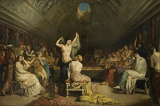 1853 in art - Image: Théodore Chassériau Tepidarium Google Art Project