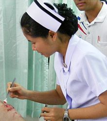 Thai nurse in Na Wa Public Hospital.jpg