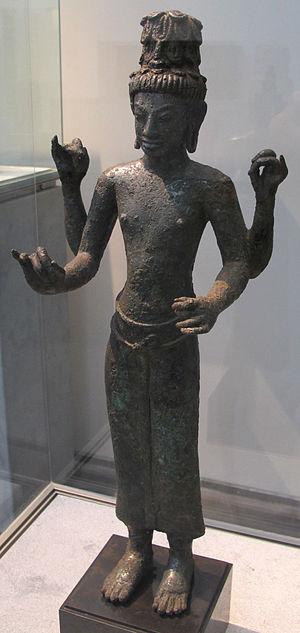 Buddhism in Thailand - Thai depiction of Maitreya Bodhisattva. 8th century CE