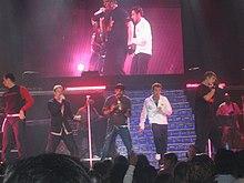 I Backstreet Boys in concerto a Vancouver, 2005