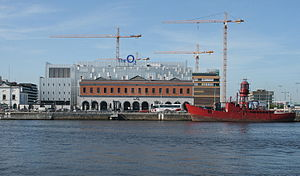 Lightvessels in Ireland - Image: The O2pic