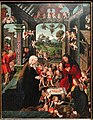 The Adoration of the Christ Child, c. 1515, by Jacob Cornelisz van Oostsanen and workshop - Art Institute of Chicago - DSC09640.JPG