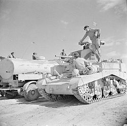 The British Army in North Africa 1942 E19587