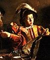 The Calling of Saint Matthew-Caravaggo (1599-1600) (cropped).jpg