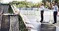The Chairman Chiefs of Staff Committee & Chief of the Air Staff, Air Chief Marshal Arup Raha paying homage at War Memorial, in New Delhi on September 22, 2014.jpg