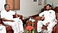 The Chief Minister of Kerala, Shri Pinarayi Vijayan meeting the Union Minister for Consumer Affairs, Food and Public Distribution, Shri Ram Vilas Paswan, in New Delhi on November 16, 2016 (1).jpg