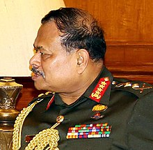 The Chief of Army Staff, Bangladesh Army, General Aziz Ahmed (cropped).JPG