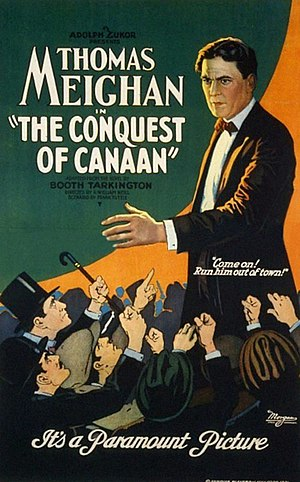 The Conquest of Canaan - Theatrical release poster