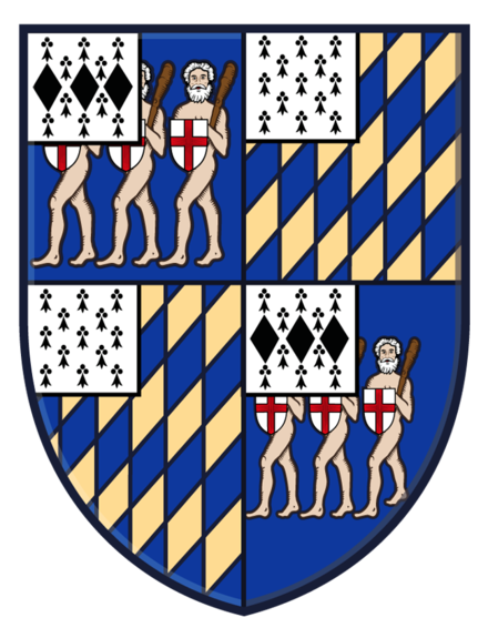 Arms of The Rt Hon. Edward Frederick Lindley Wood, 1st Earl of Halifax The Earl of Halifax CoA.png