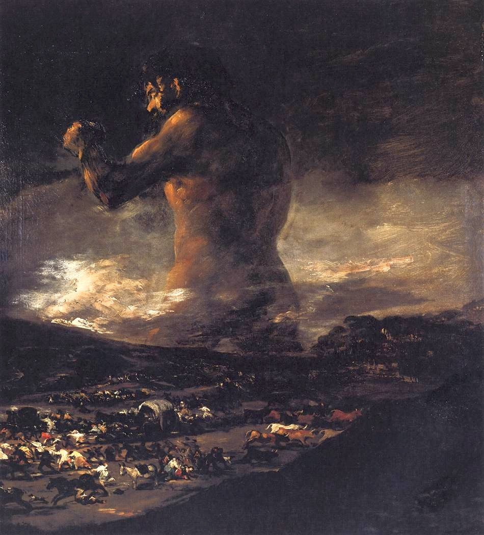The Giant by Goya