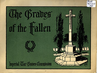 Commonwealth War Graves Commission - Cover page of Graves of the Fallen