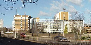 Met Office - Former Met Office building in Bracknell, Berkshire before relocation to Exeter, since demolished
