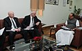 The Minister of Agriculture of Saskatchewan, (Canada), Mr. Lyle Stewart along with his delegation calls on the Minister of State (Independent Charge) for Consumer Affairs, Food and Public Distribution, Professor K.V. Thomas.jpg