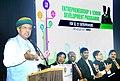 The Minister of State for Finance and Corporate Affairs, Shri Arjun Ram Meghwal delivering the valedictory address at the Entrepreneurship and Vendor Development Programme for SC & ST Entrepreneurs, in Mumbai.jpg