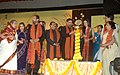 The Minister of State for Information & Broadcasting and External Affairs, Shri Anand Sharma lighting the lamp to inaugurate the seventh Pune International Film Festival (PIFF 2009), in Pune, Maharashtra on January 08, 2009.jpg