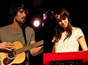 The Narrative - The Narrative (Jesse Gabriel and Suzie Zeldin) at VINYL on April 26, 2011.