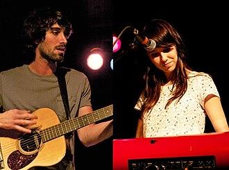 The Narrative - The Narrative (Jesse Gabriel and Suzie Zeldin) at VINYL on April 26, 2011.