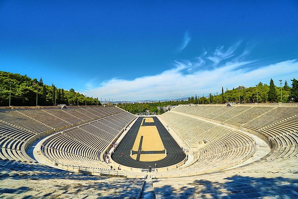 The Panathenaic Stadium of Athens