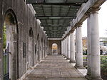 The Peace Garden - Doric loggia moved from Broad Street - colonnade (3626154267).jpg