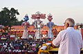 The Prime Minister, Shri Narendra Modi addressing the gathering at the Dussehra celebrations at Madhav Das Park, Red Fort, on the auspicious occasion of Vijay Dashmi, in Delhi on September 30, 2017 (3).jpg