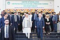 The Prime Minister, Shri Narendra Modi and the Prime Minister of Israel, Mr. Benjamin Netanyahu, at the Centre of Excellence for Vegetables, at Vadrad, in Gujarat on January 17, 2018 (9).jpg