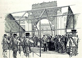 Colonial and Indian Exhibition a substantial exhibition held in South Kensington in London in 1886