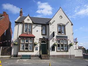 Garswood - Image: The Railway pub, Garswood