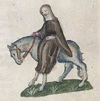The Second Nun - Ellesmere Chaucer