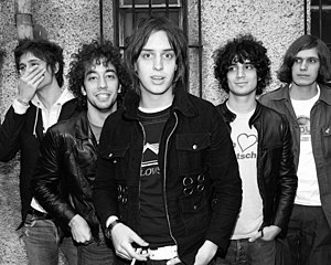 The Strokes - Image: The Strokes by Roger Woolman