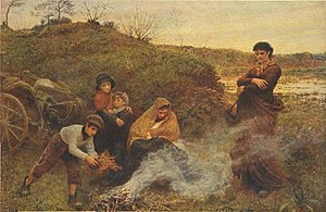 Frederick Walker (painter) - The Vagrants (1868; Tate, London)