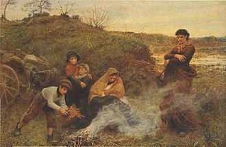 Frederick Walker (painter) - The Vagrants (1868; Tate, London)