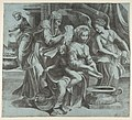 The Virgin washing the Christ Child accompanied by figures and an angel at right MET DP812773.jpg
