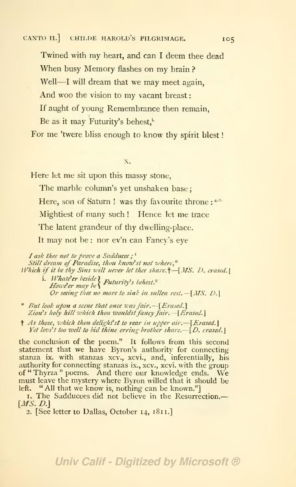Coleridge Letter To Sarah Hutchinson  August