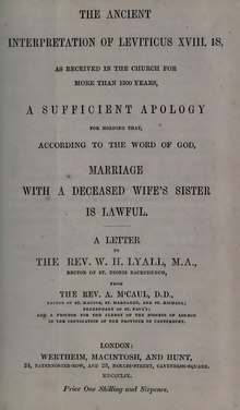 The ancient interpretation of Leviticus XVIII. 18 - Marriage with a deceased wife's sister is lawful.djvu