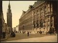 The belfry and Hotel de ville, Ghent, Belgium-LCCN2001697935.tif