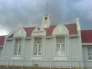 De Villiers Graaff High School - The front of the school