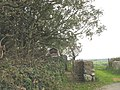 The gateway to Llechcynfarwy Church - geograph.org.uk - 1008170.jpg