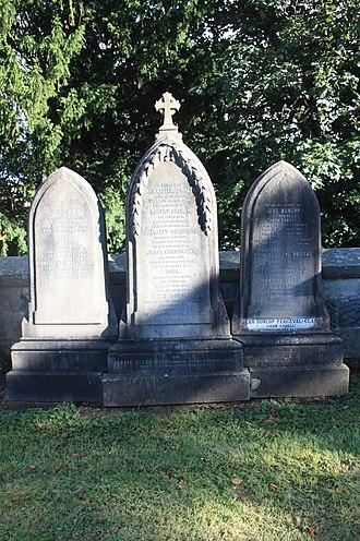 Simon Cadell - The Cadell family grave in Dean Cemetery