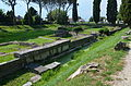 The western-side remains of the fluvial port of Aquileia, built in the Julio-Claudian age along the right side of the Natiso River along the Via Sacra (the Sacred Way), Italy (19044353984).jpg
