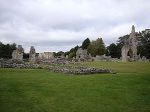 The remains of Thetford Priory